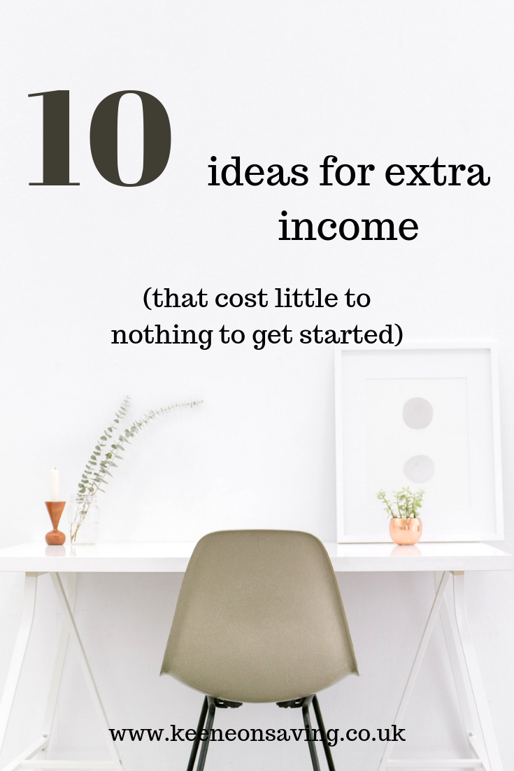 10 ideas for extra income that won't break the bank