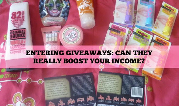 Entering Giveaways | Can They Really Boost Your Income? | Discussion | www.keeneonsaving.co.uk