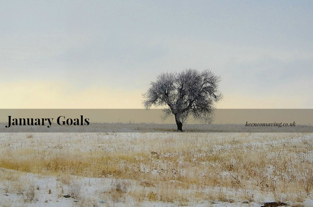 My goals (personal and blog related) for January 2015 | www.keeneonsaving.co.uk