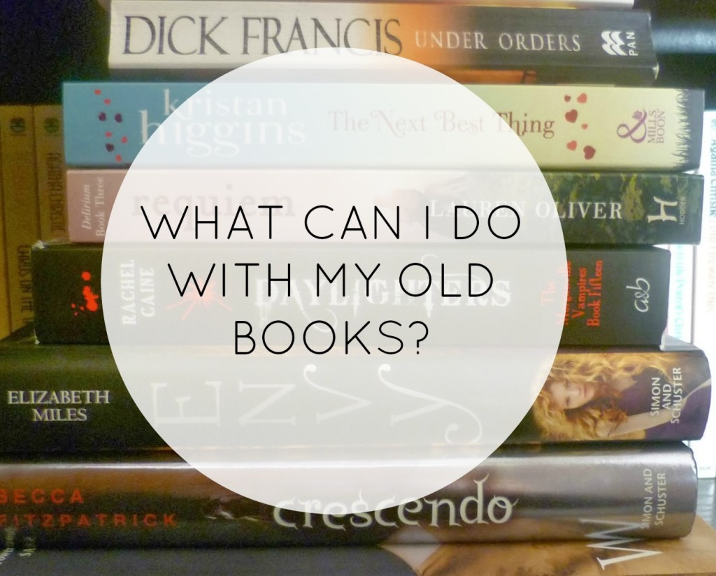 What Can I Do With My Old Books | Tips | www.keeneonsaving.co.uk